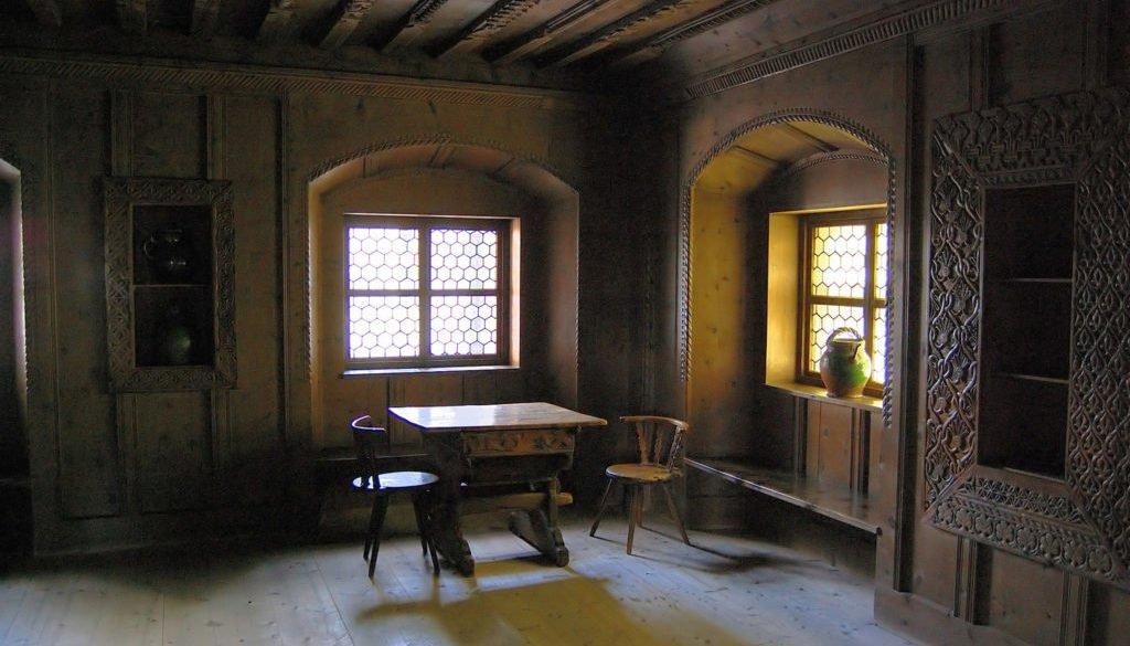 Middle Age Furniture and Interior Design Set