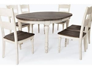 Madison County Round to Oval Table Only