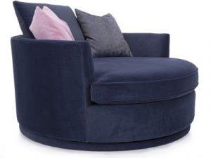 Large Swivel Nesting Chair